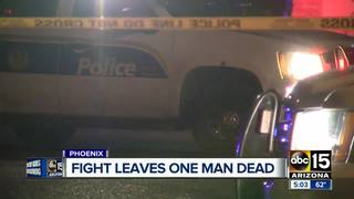 Fight in Phoenix leads to deadly shooting