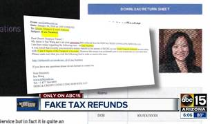 LJK: IRS warns of fake return deposits