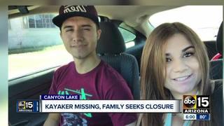 Valley family of missing kayaker seeks closure