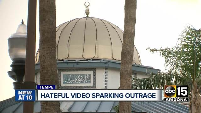 2 women hurling insults on video at Tempe mosque are arrested