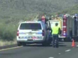 FD: One dead in Black Canyon City crash