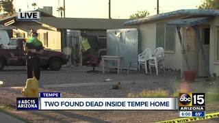 PD: Murder-suicide in Tempe; father, son dead
