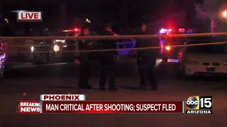 FD: Man critically hurt in Phoenix shooting