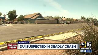 FD: 1 killed, 1 injured in W. Phoenix car crash
