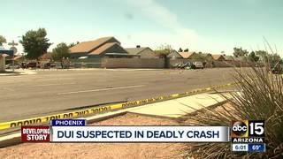 FD: 1 killed, 1 injured in W. Phoenix car crash