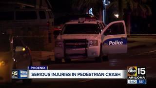 PD: Pedestrian hit by car in Phoenix