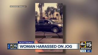 Woman harassed during jog in Scottsdale