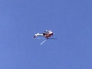 LUKE DAYS! Red Bull helicopter does backflips
