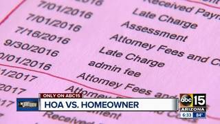 Homeowner defends against HOA fees in court