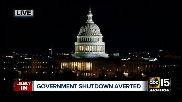 The Senate has passed a $1.3 trillion spending bill which now heads to President Trump's desk for approval and avoids a weekend government shutdown