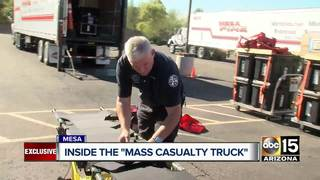 "Inside look at Mesa FD's ""Mass casualty trucks"""