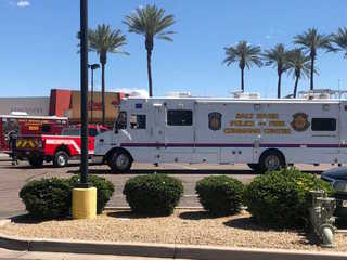 Suspect shot by officer at Scottsdale Pavilions