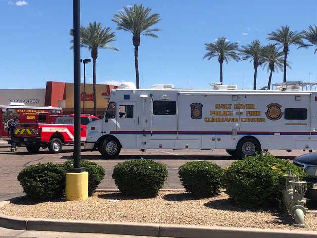 Police Investigating Officer Involved Shooting At Scottsdale Pavilions