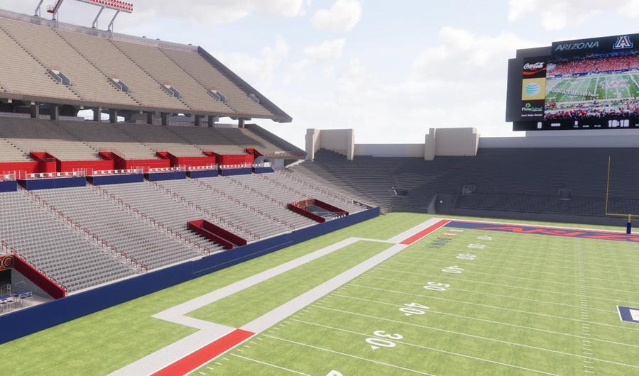 University of Arizona reveals images of planned upgrades to Arizona