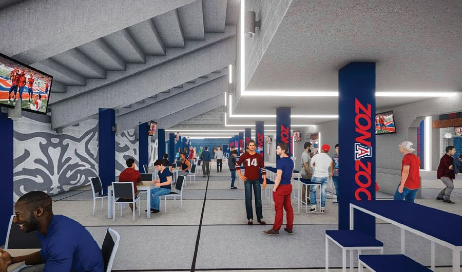 University of Arizona reveals images of planned upgrades to