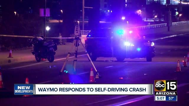 Google self-driving van involved in crash in Arizona, driver injured