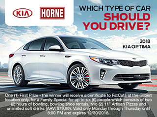 RULES: Horne Kia quiz sweepstakes