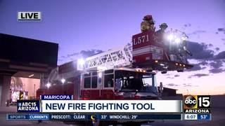 VIDEO: Maricopa shows off new fire truck