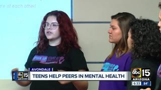 Avondale teens help peers with mental health
