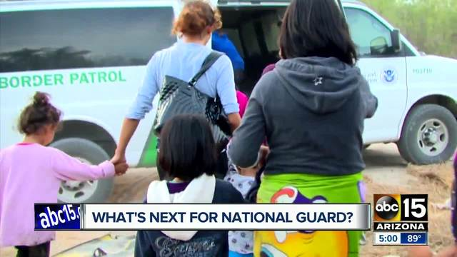 Trump administration sends first national guard troops to US-Mexico border