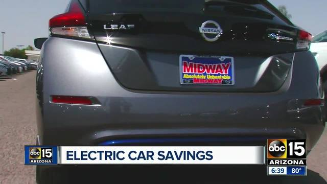 Nissan offers Maricopa County SRP customers incentive on new ...