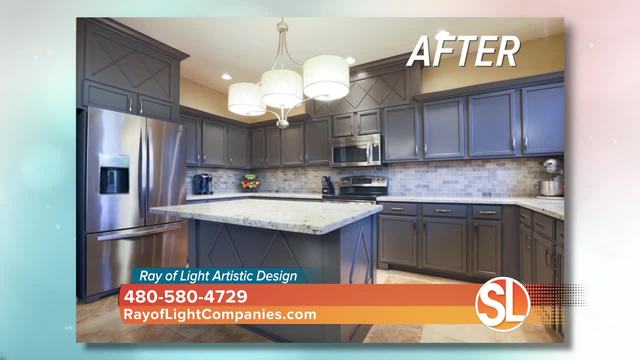 Ray Of Light Artistic Design Shows You How They Can Update Your Cabinets  Without Spending A Fortune!