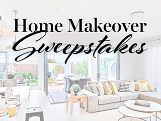 Enter our Spring Home Makeover Sweepstakes