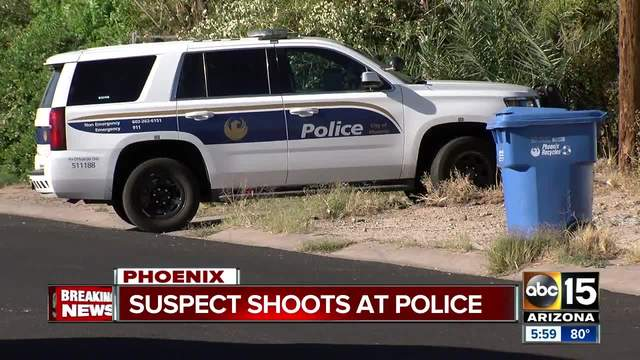 Phoenix police respond to second officer-involved shooting of the day