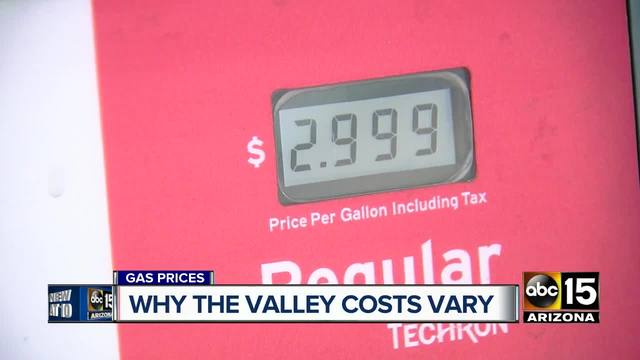Gas Prices Rise 3.5 Cents In Chattanooga