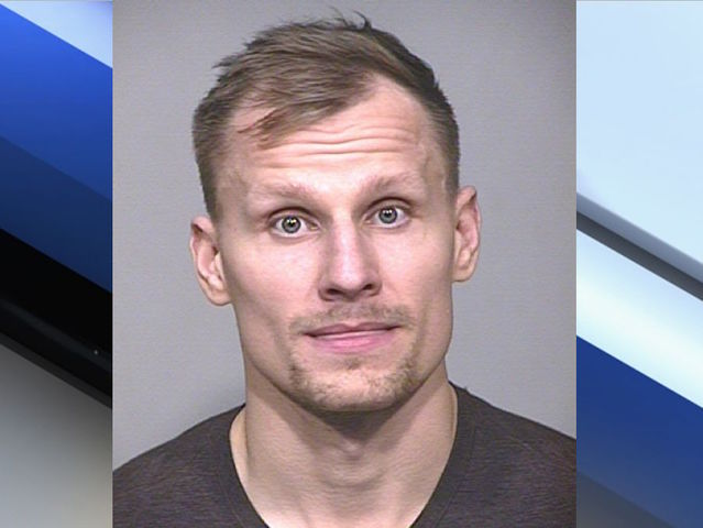 Coyotes' Panik arrested for criminal trespass