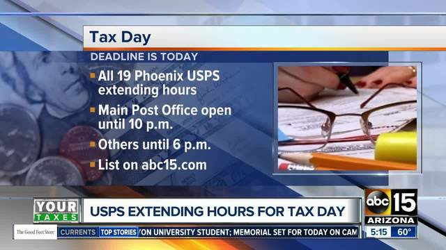 Tax Deadline Day is here