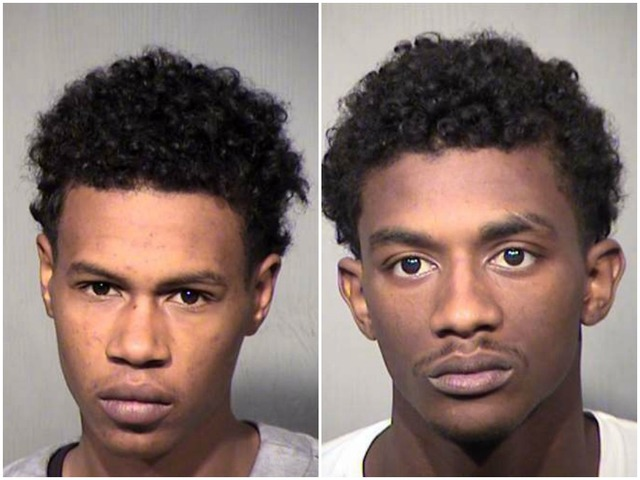2 suspects arrested in a Phoenix auto chase; Police dog dies