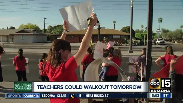 Arizona teachers will cast votes this week on whether to strike