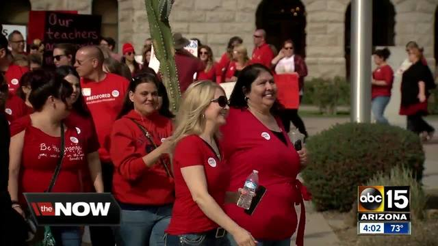 Arizona schools, parents plan for possible teacher strike