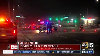 PD: Pedestrian killed in Phoenix hit-and-run