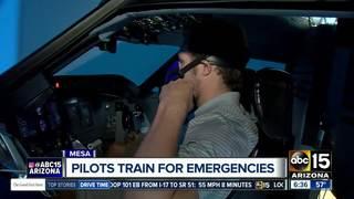 Student pilots prepare for emergencies in Mesa