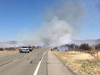 Wildfire closes SR-89 south of Prescott