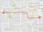 MAP: Red for Ed march route, road closures