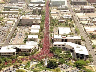 LATEST: 50k march in teacher protest at Capitol