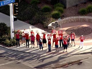PHOTOS: Teachers hold statewide walkout