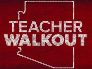 Teachers protest, hold walkout across Arizona