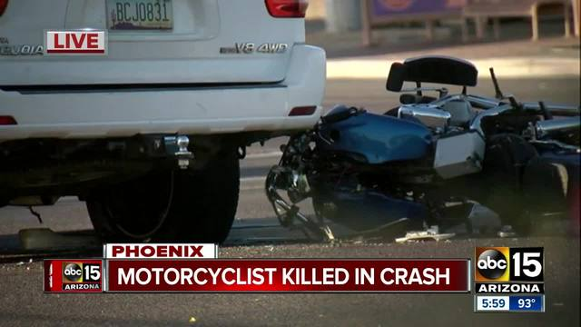 Motorcyclist killed in a two-vehicle wreck in Greensboro