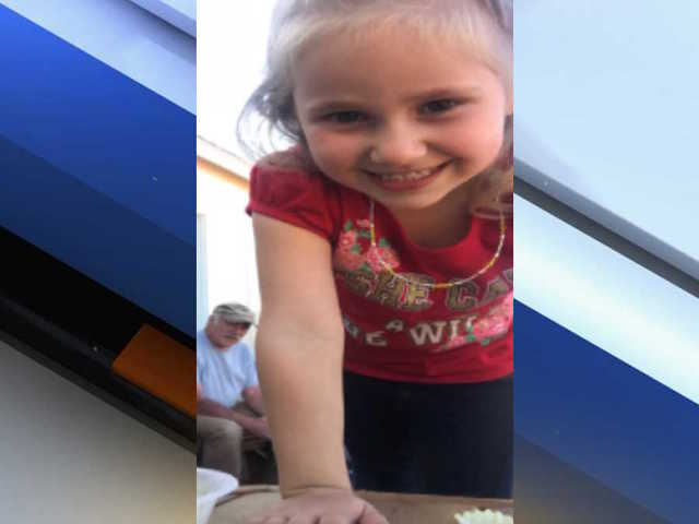 Search underway for missing 4-year-old Williams girl