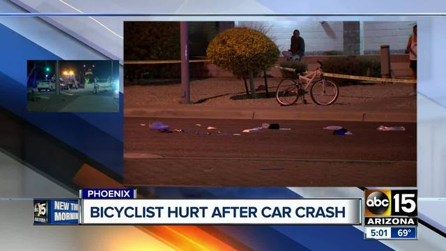 Motorcyclist killed after crash with SUV in northern Phoenix