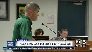 Community angry over HS baseball coach's firing
