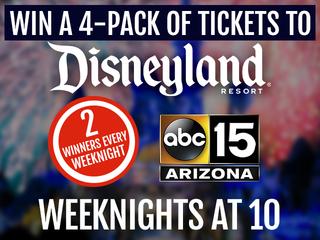 Enter to win Disneyland tickets!