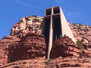 Chapel of the Holy Cross, an AZ man-made wonder