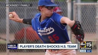 Verrado HS baseball honors teammate that died