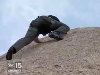 WATCH: Rock climbing adventure in the Valley!
