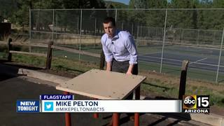 AZ father designs bulletproof desk for schools